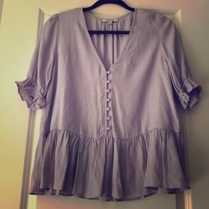 Lavender Madewell Top